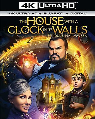 The House With A Clock In Its Walls 4K Ultra HD+Blu Ray+Digital(STEF-334/STEF-1)