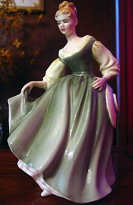 "Vintage Royal Doulton collectible bone china figurine -""Fair Lady"" HN 2193"