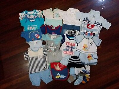 Newborn baby boy summer bundle
