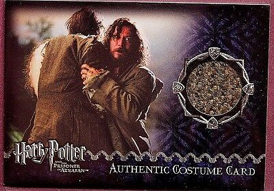 Harry Potter-David Thewlis-Remus Lupin-POA-Update-Movie-AUTHENTIC-Costume Card