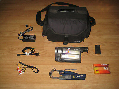 Sony CCD-TRV815 HANDYCAM VIDEO Hi8 CAMERA X RAY, 1998, MADE IN JAPAN.