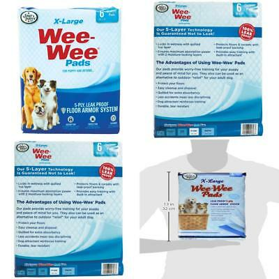 Wee-Wee Puppy Pee Pads for Larger or Multiple Dogs - Oversized