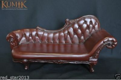 """1:6 Scale Brown Plastic Sofa Furniture For 12"""" Dolls Barbie Action Figure AC-4"""