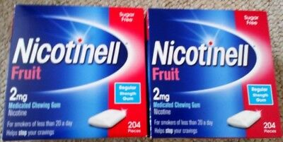 NICOTINELL CHEWING GUM X 408 Pieces (Choose Strength / Flavour)