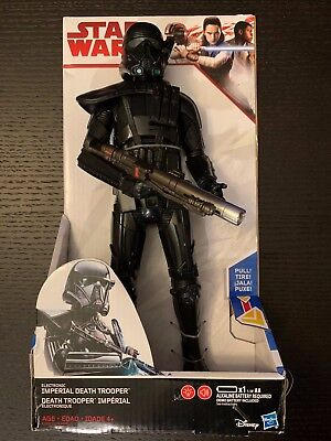 """Star Wars Rogue One Electronic Duel Imperial Death Trooper 12"""" FREE SHIPPING"""