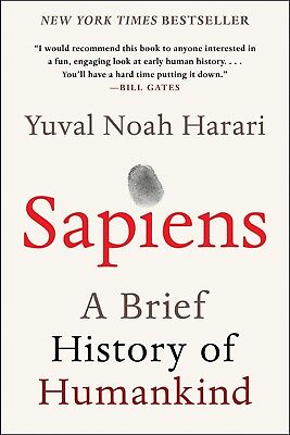 Sapiens: A Brief History of Humankind Paperback by Yuval Noah Har