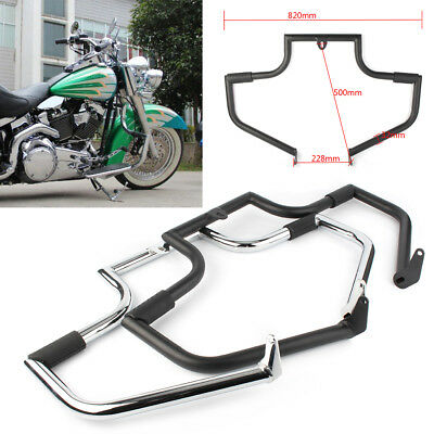 Mustache Engine Guard for Harley Davidson Softail Heritage Classic 2000-2017 1PC