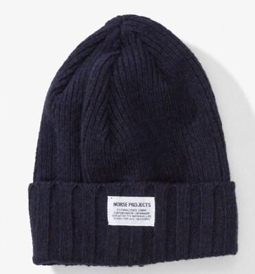 1c511a6b2e74b NORSE PROJECTS WOOL Beanie Unisex -  30.00