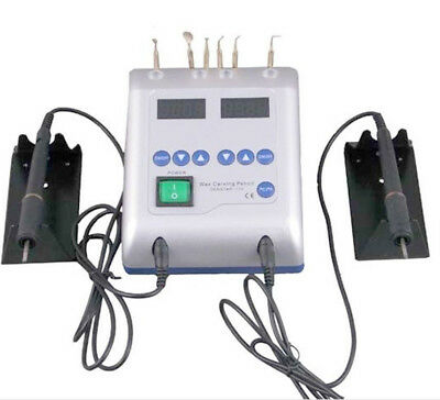 Dental Lab Electric Wax Waxer Machine with 6 Wax Tip Double Carving Pen+Oximeter