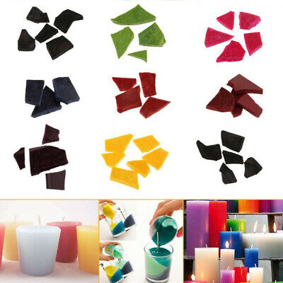 10g/Bag Candle Wax Dye Chips Multi-color For DIY Candle Making Coloring Crafts