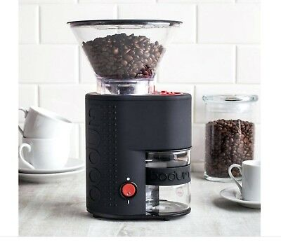 Bodum Bistro Electric Burr Coffee and Espresso Grinder - Black (Price Reduced)