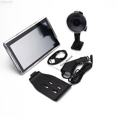 "54E1 Car 7"" HD Touch Screen Portable Free Map Navigator FM MP3 Entertainment"