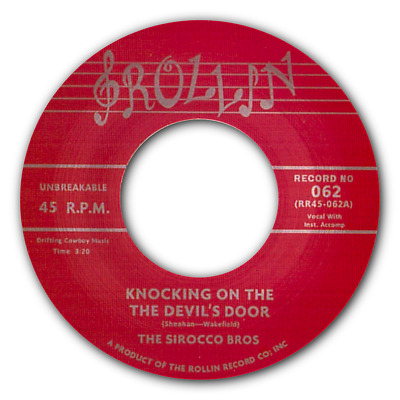 """SIROCCO BROS - """"Knocking On The Devil's Door"""" HOT, HOT ROCKABILLY - JUST OUT!"""