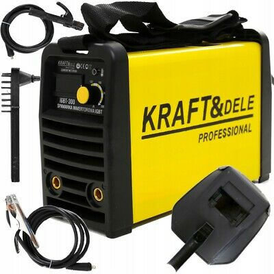 KRAFT&DELE KD1852 300 AMP Welder Inverter IGBT Manual Arc Welding MMA PWN