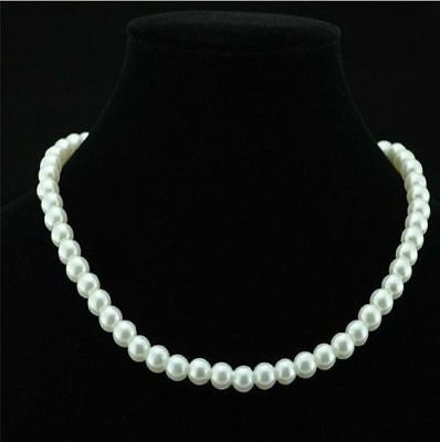 Hot New Fashion Women's White Pearl Necklace Jewelry Pendant Pearl A2