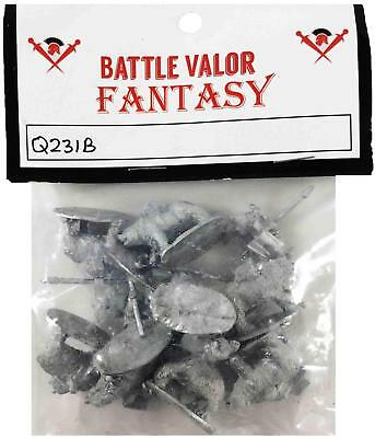 Battle Valor Dwarians 15mm Dwarian Bear Cavalry w/Spears and Shields Pack MINT