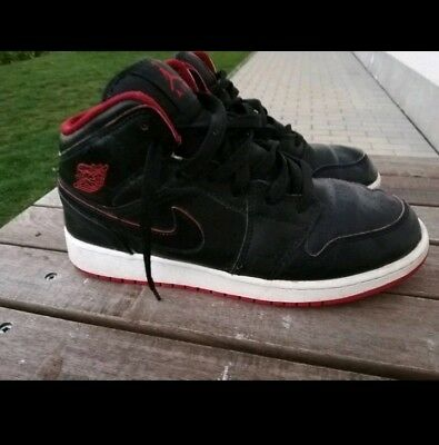 factory authentic 0b57c 11c5f Nike Air Jordan   schwarz - rot   Gr. 40