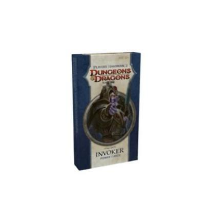WOTC D&D Power Cards Player's Handbook 2 - Invoker Box SW