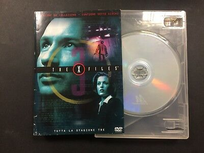 The X Files 3° Stagione Completa Dvd