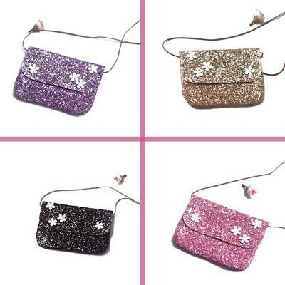 Cute Girl Mini Handbag Shoulder Bags Messenger Cross Body Sequins Bag Coin Purse