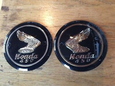 Honda cb450 tank badges