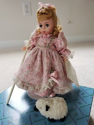 Madame Alexander Doll Mary Had A Little Lamb 11610