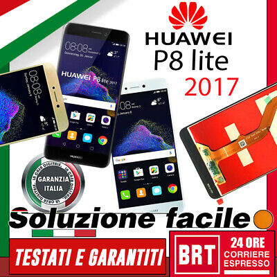 Lcd+Touch Screen Huawei P8 Lite 2017 Display Schermo Pra-Lx1 Lx3 La1 Vetrino+Kit