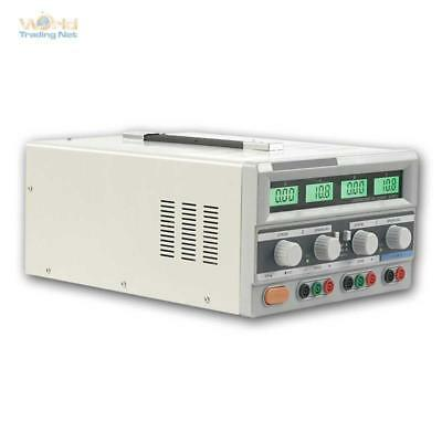 Laboratory Power Supply '' Digital 302-05'',Network 2x 0-30V,0-5A,1x 5V/3A, for