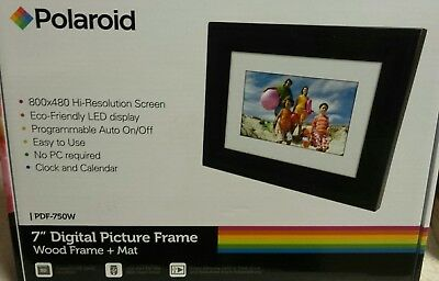 "Polaroid 7"" Digital Picture Frame"