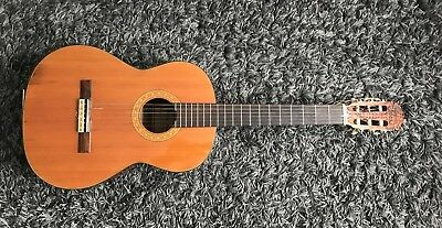 Ibanez York 2842 Vintage - Classic /Acoustic Guitar - Made in Japan 1970s -Risse