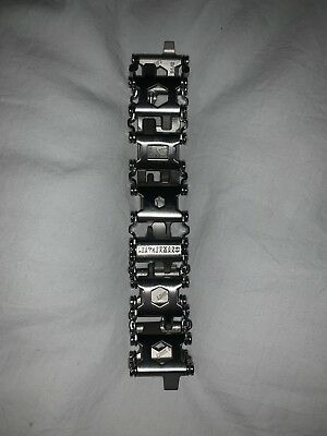 Leatherman Tread Bracelet Silver. NO PREVIOUS USAGE! FREE DELIVERY!