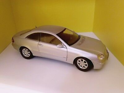 Mercedes CLK Coupe Silber Kyosho OVP 1:18