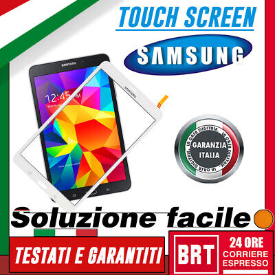 "Touch Screen Vetro Per Samsung Galaxy Tab 4 Pro Sm-T331 T335 8"" Display Wifi 3G!"