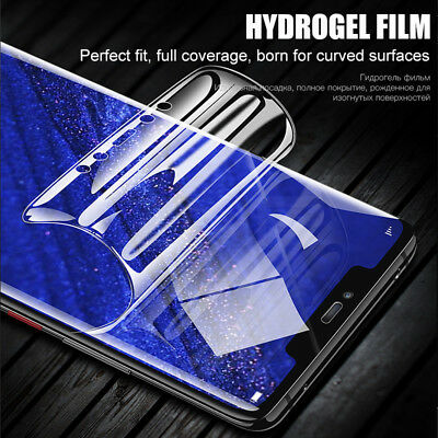 Soft Clear Full Screen Protector Film For Huawei Mate 20 Pro [Case Friendly]