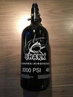 Shark Pressluftflasche Paintball 3000 PSI