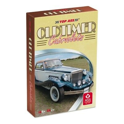 ASS Altenburger TOP ASS® Oldtimer Cabriolets (2019), 36 Karten