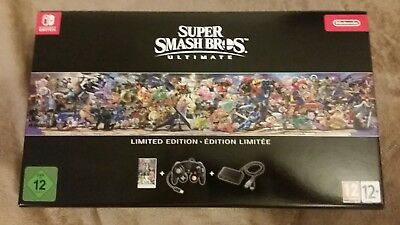 Super Smash Bros Ultimate Collector Edition Nintendo Switch fr neuf