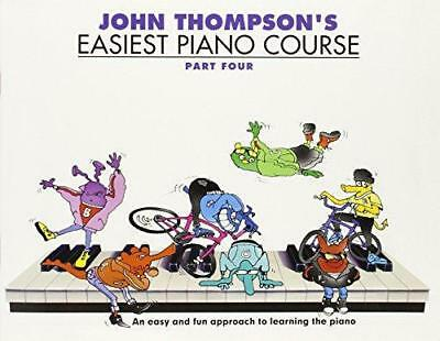 John Thompsons Easiest Piano 4 (Book & CD), THOMPSON, Good Condition Book, ISBN