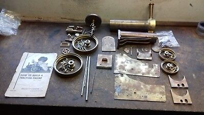 Bassett Lowke 3/4 inch model traction engine live steam project.