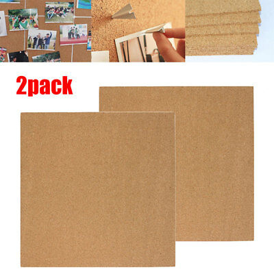 Wooden Framed Cork Pin Message Notice Board Photo Picture Memo 450 x 450mm UK