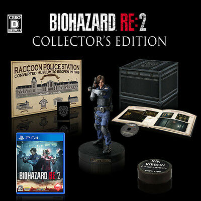 NEW CAPCOM BIOHAZARD RE:2 COLLECTOR'S EDITION PS4 Resident Evil from Japan F/S