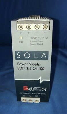 SOLA Power Supply SDN 2.5-24-100