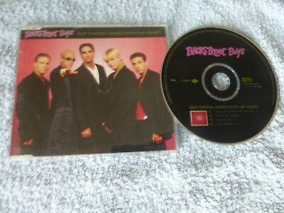 Backstreet Boys ‎– Quit Playing Games (With My Heart)  - CD Single 1996