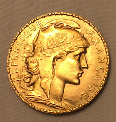 PIECE 20 FRANCS OR  1913 Marianne