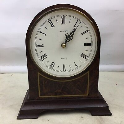 Vintage Metamec Chime Mantel Clock Retro