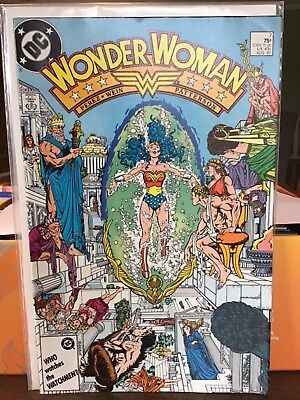 Wonder Woman #7 1987 Very Fine + Condition Dc Comic Book Free Shipping