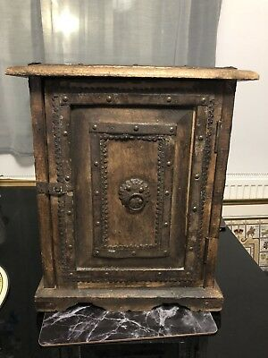 Vintage Antique Looking Small Wooden Cabinet