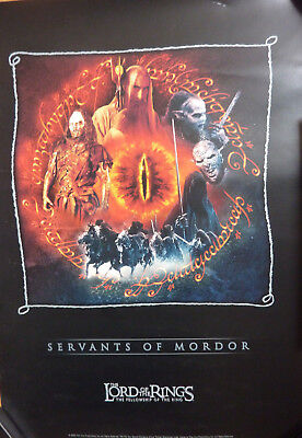 """THE LORD OF THE RINGS Limited Edition """"Servants of Mordor"""" 42x30 Zertifikat TOP"""