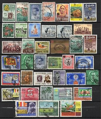 Ceylon very nice mixed collection,stamps as per scan(6136)