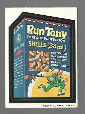 1973 Topps Original Wacky Packages 2nd Series 2 Rare Run Tony Scarce Title w/b